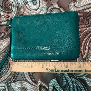 Coach wristlet, tags removed but never used